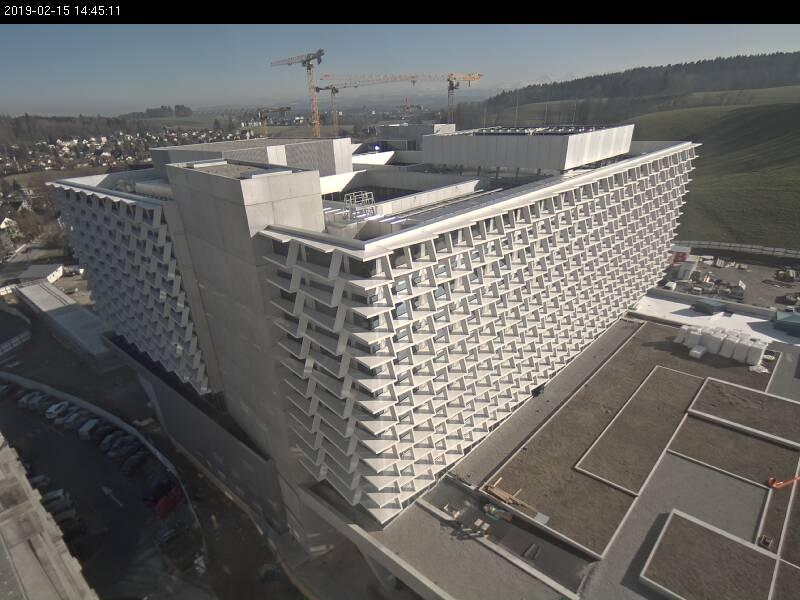 Baustellen Webcam Bürgerspital Solothurn